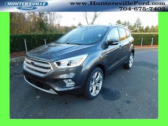 2019 Magnetic Metallic Ford Escape Titanium 4 Door FWD EcoBoost 2.0L I4 GTDi DOHC Turbocharged VCT Engine Automatic SUV
