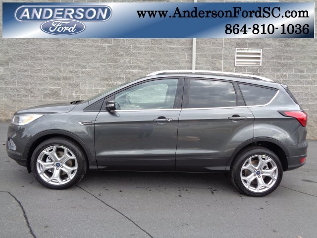 2019 Ford Escape Titanium Automatic FWD 4 Door SUV EcoBoost 2.0L I4 GTDi DOHC Turbocharged VCT Engine