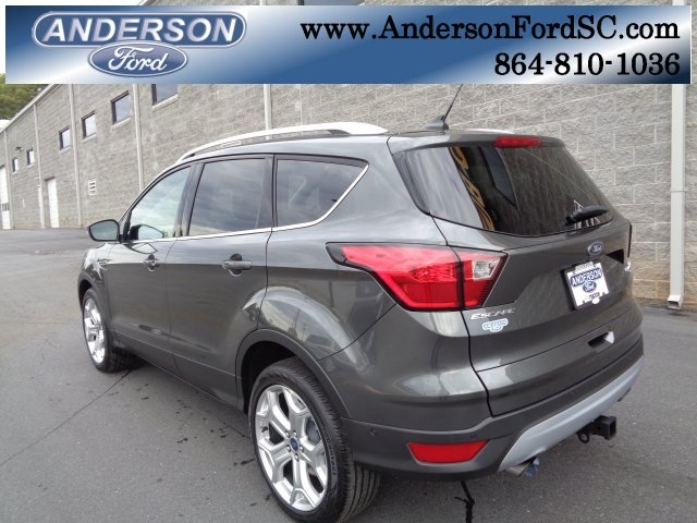2019 Ford Escape Titanium EcoBoost 2.0L I4 GTDi DOHC Turbocharged VCT Engine FWD Automatic