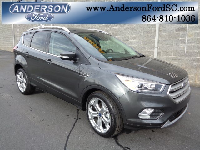 2019 Ford Escape Titanium EcoBoost 2.0L I4 GTDi DOHC Turbocharged VCT Engine 4 Door Automatic FWD