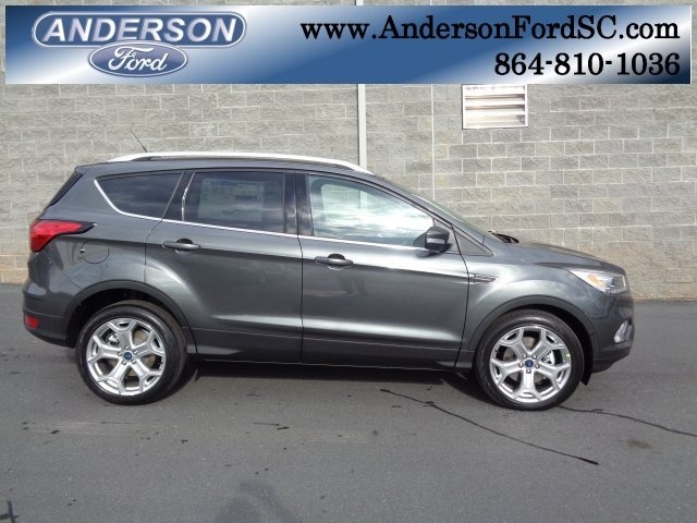 2019 Magnetic Metallic Ford Escape Titanium Automatic EcoBoost 2.0L I4 GTDi DOHC Turbocharged VCT Engine SUV