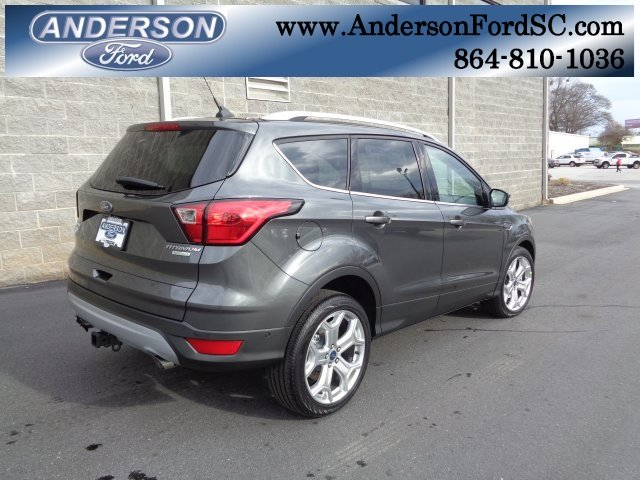 2019 Ford Escape Titanium SUV FWD EcoBoost 2.0L I4 GTDi DOHC Turbocharged VCT Engine 4 Door Automatic