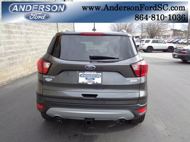 2019 Ford Escape Titanium SUV FWD 4 Door EcoBoost 2.0L I4 GTDi DOHC Turbocharged VCT Engine