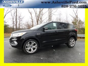 2019 Ford Escape Titanium EcoBoost 2.0L I4 GTDi DOHC Turbocharged VCT Engine 4X4 Automatic