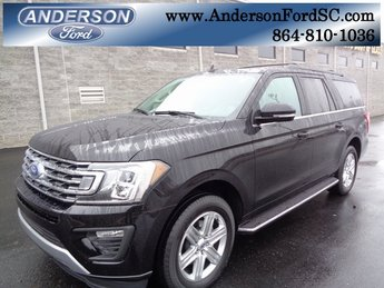 2019 Agate Black Metallic Ford Expedition Max XLT RWD Automatic EcoBoost 3.5L V6 GTDi DOHC 24V Twin Turbocharged Engine