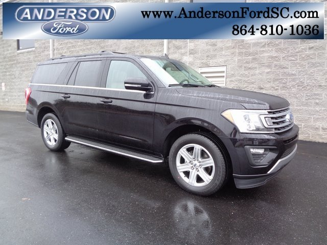 2019 Agate Black Metallic Ford Expedition Max XLT SUV Automatic 4 Door RWD EcoBoost 3.5L V6 GTDi DOHC 24V Twin Turbocharged Engine