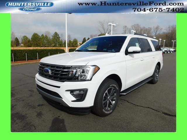 2019 Oxford White Ford Expedition Max XLT 4X4 SUV 4 Door Automatic EcoBoost 3.5L V6 GTDi DOHC 24V Twin Turbocharged Engine