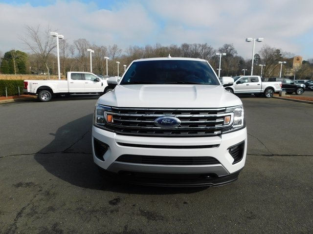 2019 Oxford White Ford Expedition Max XLT SUV Automatic EcoBoost 3.5L V6 GTDi DOHC 24V Twin Turbocharged Engine