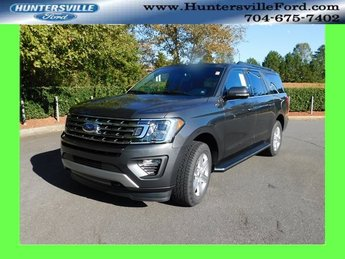 2018 Magnetic Metallic Ford Expedition Max XLT 4 Door 4X4 EcoBoost 3.5L V6 GTDi DOHC 24V Twin Turbocharged Engine Automatic SUV
