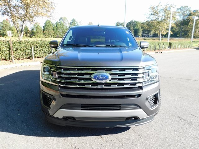 2018 Magnetic Metallic Ford Expedition Max XLT Automatic 4 Door EcoBoost 3.5L V6 GTDi DOHC 24V Twin Turbocharged Engine 4X4 SUV