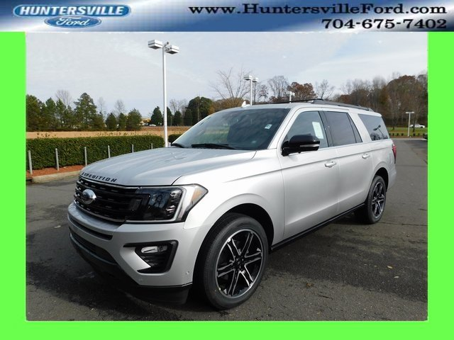 2019 Ingot Silver Metallic Ford Expedition Max Limited SUV 4X4 4 Door Automatic EcoBoost 3.5L V6 GTDi DOHC 24V Twin Turbocharged Engine