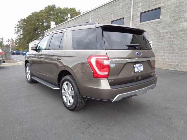 2019 Stone Gray Metallic Ford Expedition XLT 4 Door Automatic EcoBoost 3.5L V6 GTDi DOHC 24V Twin Turbocharged Engine SUV