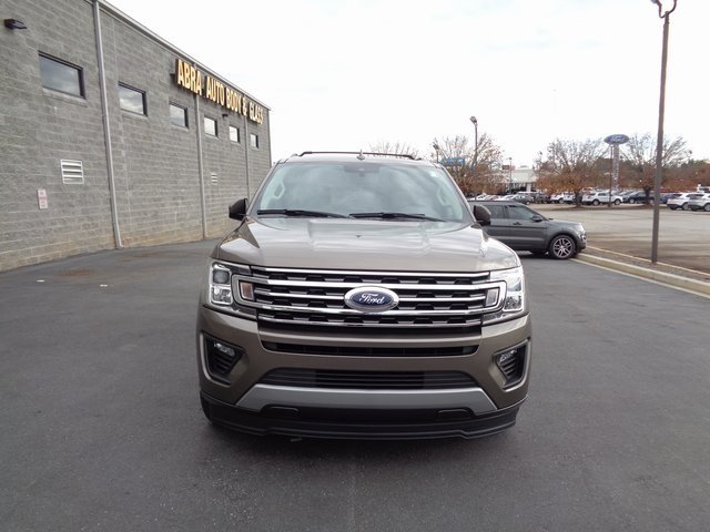 2019 Stone Gray Metallic Ford Expedition XLT 4 Door EcoBoost 3.5L V6 GTDi DOHC 24V Twin Turbocharged Engine Automatic RWD