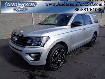 2019 Ingot Silver Metallic Ford Expedition Limited Automatic RWD EcoBoost 3.5L V6 GTDi DOHC 24V Twin Turbocharged Engine 4 Door SUV