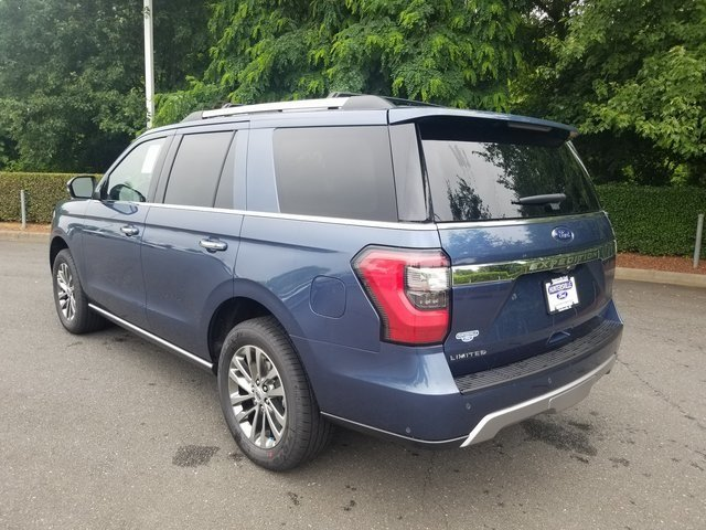2018 Blue Metallic Ford Expedition Limited Automatic SUV RWD EcoBoost 3.5L V6 GTDi DOHC 24V Twin Turbocharged Engine
