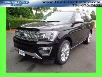 2018 Shadow Black Ford Expedition Platinum 4 Door Automatic EcoBoost 3.5L V6 GTDi DOHC 24V Twin Turbocharged Engine 4X4
