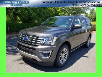 2018 Magnetic Metallic Ford Expedition Limited 4 Door SUV EcoBoost 3.5L V6 GTDi DOHC 24V Twin Turbocharged Engine