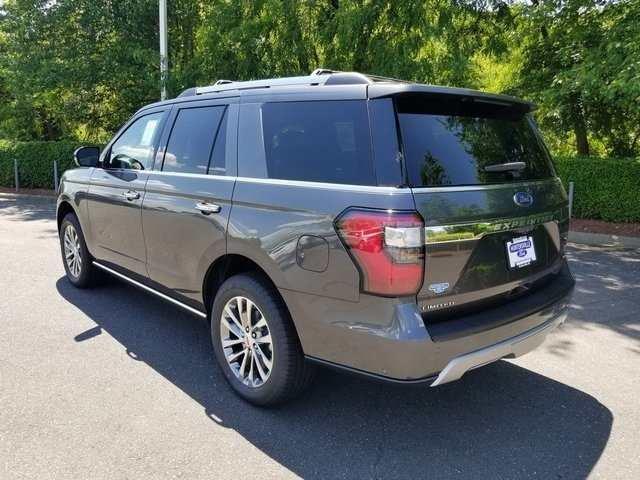 2018 Magnetic Metallic Ford Expedition Limited SUV EcoBoost 3.5L V6 GTDi DOHC 24V Twin Turbocharged Engine Automatic 4X4 4 Door