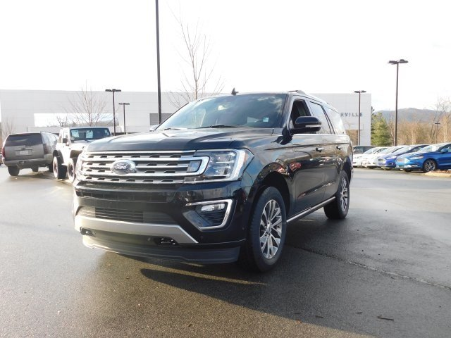 2018 Shadow Black Ford Expedition Limited EcoBoost 3.5L V6 GTDi DOHC 24V Twin Turbocharged Engine SUV Automatic
