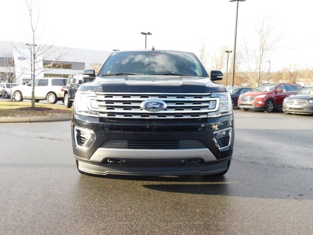 2018 Shadow Black Ford Expedition Limited SUV 4X4 EcoBoost 3.5L V6 GTDi DOHC 24V Twin Turbocharged Engine