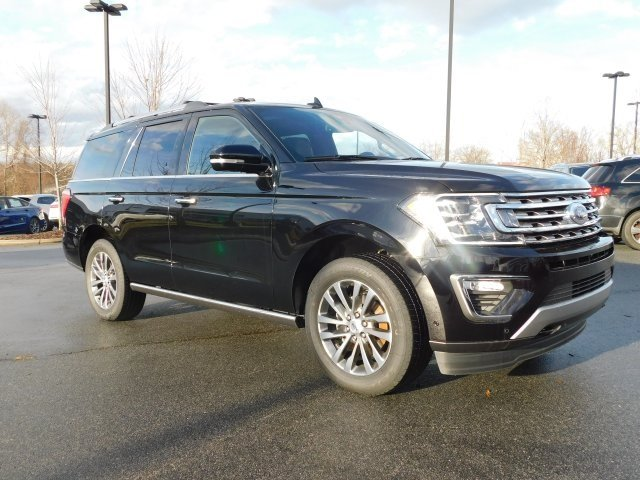 2018 Shadow Black Ford Expedition Limited EcoBoost 3.5L V6 GTDi DOHC 24V Twin Turbocharged Engine Automatic 4X4 4 Door