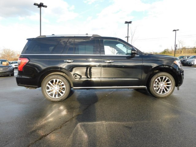 2018 Shadow Black Ford Expedition Limited 4 Door SUV EcoBoost 3.5L V6 GTDi DOHC 24V Twin Turbocharged Engine