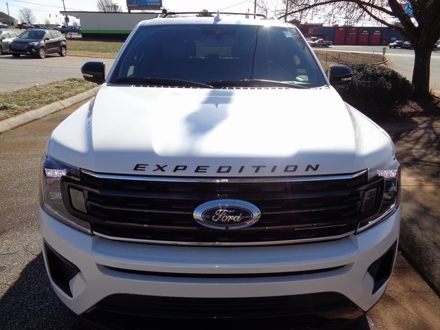 2019 White Metallic Ford Expedition Limited EcoBoost 3.5L V6 GTDi DOHC 24V Twin Turbocharged Engine SUV Automatic 4X4 4 Door