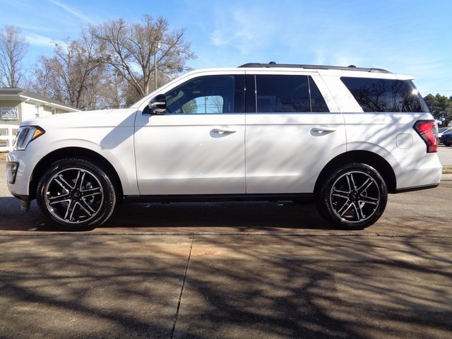2019 White Metallic Ford Expedition Limited 4 Door 4X4 Automatic