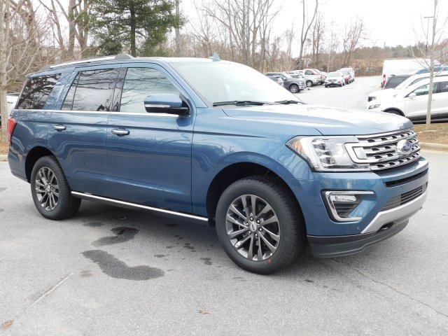 2019 Blue Metallic Ford Expedition Limited 4 Door 4X4 Automatic EcoBoost 3.5L V6 GTDi DOHC 24V Twin Turbocharged Engine