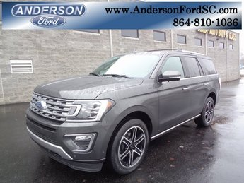 2019 Magnetic Metallic Ford Expedition Limited 4X4 SUV EcoBoost 3.5L V6 GTDi DOHC 24V Twin Turbocharged Engine 4 Door