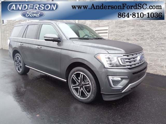 2019 Magnetic Metallic Ford Expedition Limited Automatic 4X4 EcoBoost 3.5L V6 GTDi DOHC 24V Twin Turbocharged Engine