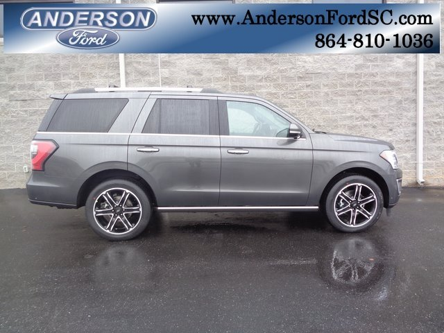 2019 Magnetic Metallic Ford Expedition Limited Automatic EcoBoost 3.5L V6 GTDi DOHC 24V Twin Turbocharged Engine SUV