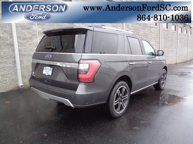 2019 Magnetic Metallic Ford Expedition Limited SUV EcoBoost 3.5L V6 GTDi DOHC 24V Twin Turbocharged Engine 4X4 Automatic 4 Door