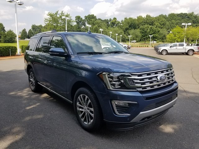 2018 Blue Metallic Ford Expedition Limited SUV 4 Door Automatic