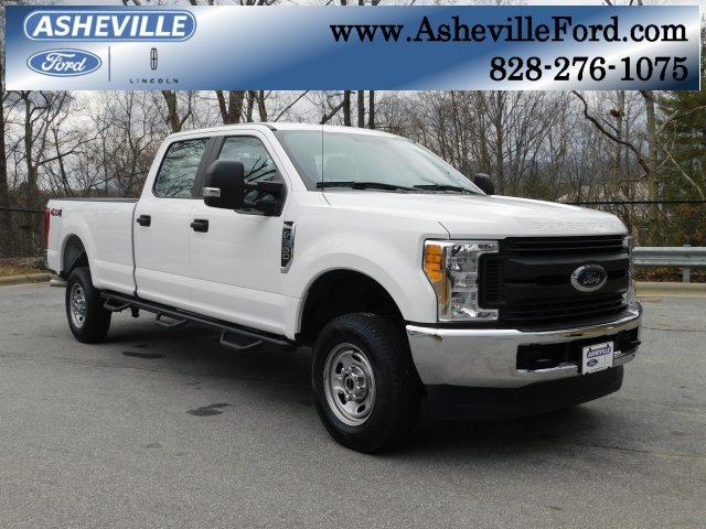 2017 Oxford White Ford Super Duty F-250 SRW XL Truck 6.2L V8 EFI SOHC 16V Flex Fuel Engine 4 Door 4X4 Automatic
