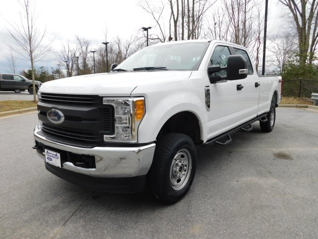 2017 Ford Super Duty F-250 SRW XL Automatic 4 Door 6.2L V8 EFI SOHC 16V Flex Fuel Engine Truck 4X4