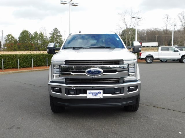 2019 Oxford White Ford Super Duty F-250 SRW King Ranch Power Stroke 6.7L V8 DI 32V OHV Turbodiesel Engine Truck 4 Door Automatic 4X4