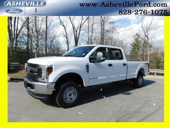 2019 Oxford White Ford Super Duty F-350 SRW XL 4X4 Truck Automatic 4 Door Power Stroke 6.7L V8 DI 32V OHV Turbodiesel Engine