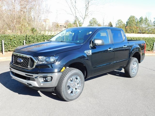 2019 Ford Ranger XLT EcoBoost 2.3L I4 GTDi DOHC Turbocharged VCT Engine Automatic 4X4