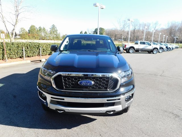 2019 Ford Ranger XLT 4 Door EcoBoost 2.3L I4 GTDi DOHC Turbocharged VCT Engine Truck Automatic 4X4