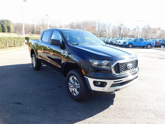 2019 Shadow Black Ford Ranger XLT 4 Door Automatic Truck