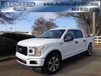 2019 Oxford White Ford F-150 XL EcoBoost 2.7L V6 GTDi DOHC 24V Twin Turbocharged Engine Automatic 4 Door RWD