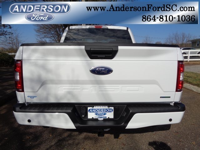 2019 Oxford White Ford F-150 XL EcoBoost 2.7L V6 GTDi DOHC 24V Twin Turbocharged Engine RWD Automatic 4 Door Truck
