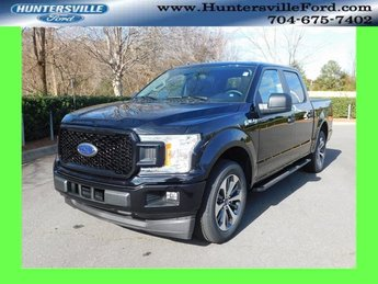 2019 Agate Black Metallic Ford F-150 XL RWD EcoBoost 2.7L V6 GTDi DOHC 24V Twin Turbocharged Engine Automatic Truck