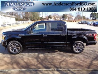 2019 Agate Black Metallic Ford F-150 XL Automatic 4 Door Truck EcoBoost 2.7L V6 GTDi DOHC 24V Twin Turbocharged Engine RWD