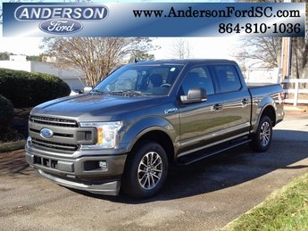 2019 Magnetic Metallic Ford F-150 XLT Truck RWD Automatic 4 Door EcoBoost 2.7L V6 GTDi DOHC 24V Twin Turbocharged Engine