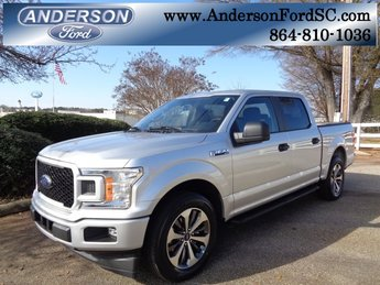 2019 Ingot Silver Metallic Ford F-150 XL Truck Automatic 4 Door RWD EcoBoost 2.7L V6 GTDi DOHC 24V Twin Turbocharged Engine