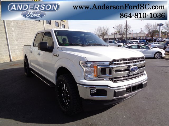 2018 Oxford White Ford F-150 XLT Automatic 4 Door Truck EcoBoost 2.7L V6 GTDi DOHC 24V Twin Turbocharged Engine