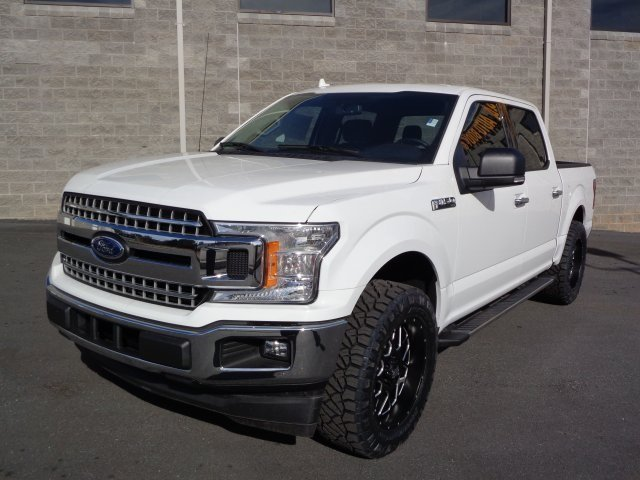 2018 Ford F-150 XLT Truck RWD Automatic EcoBoost 2.7L V6 GTDi DOHC 24V Twin Turbocharged Engine 4 Door