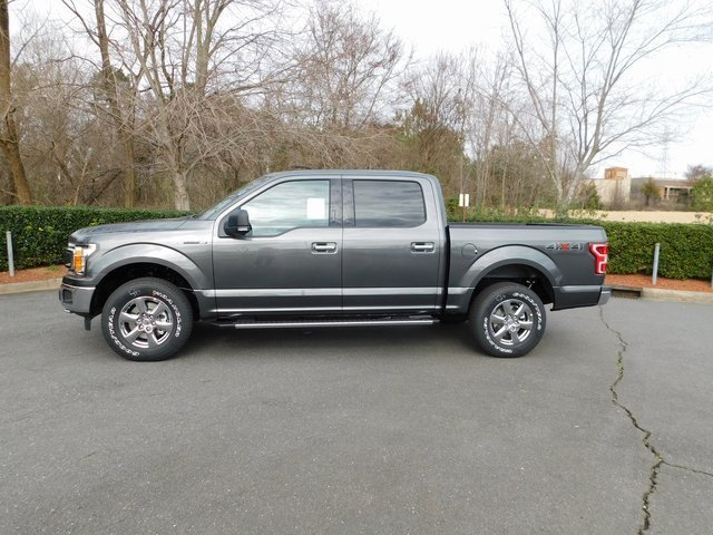 2019 Magnetic Metallic Ford F-150 XLT 4X4 4 Door Automatic Truck EcoBoost 3.5L V6 GTDi DOHC 24V Twin Turbocharged Engine
